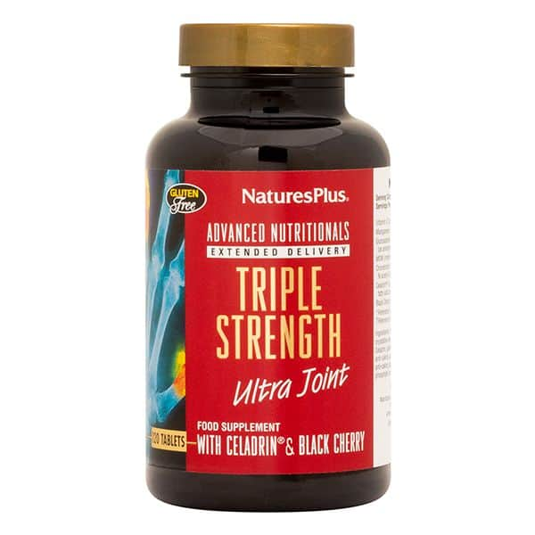 Natures Plus Triple Strength Ultra Joint 120 Tabs- ZEN Healthcare