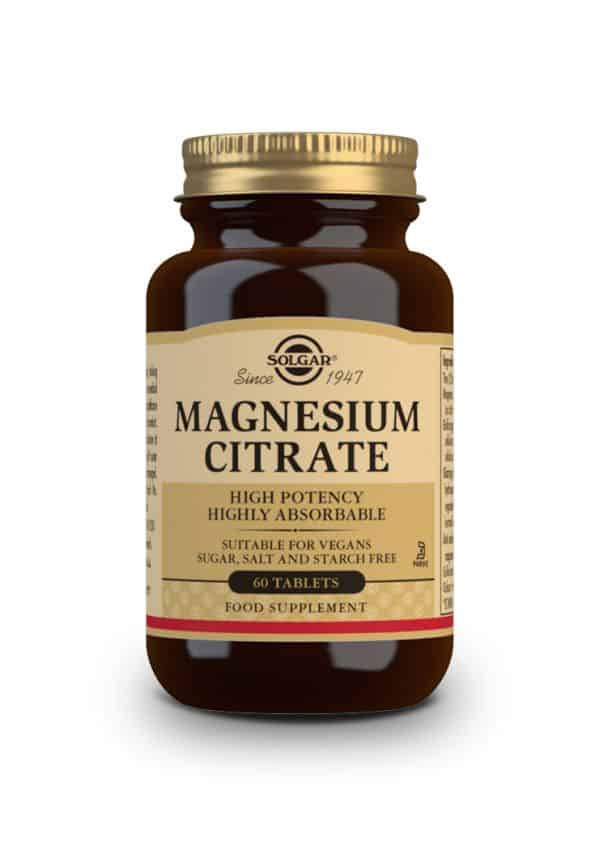 Solgar Magnesium Citrate 60 Tablets 2