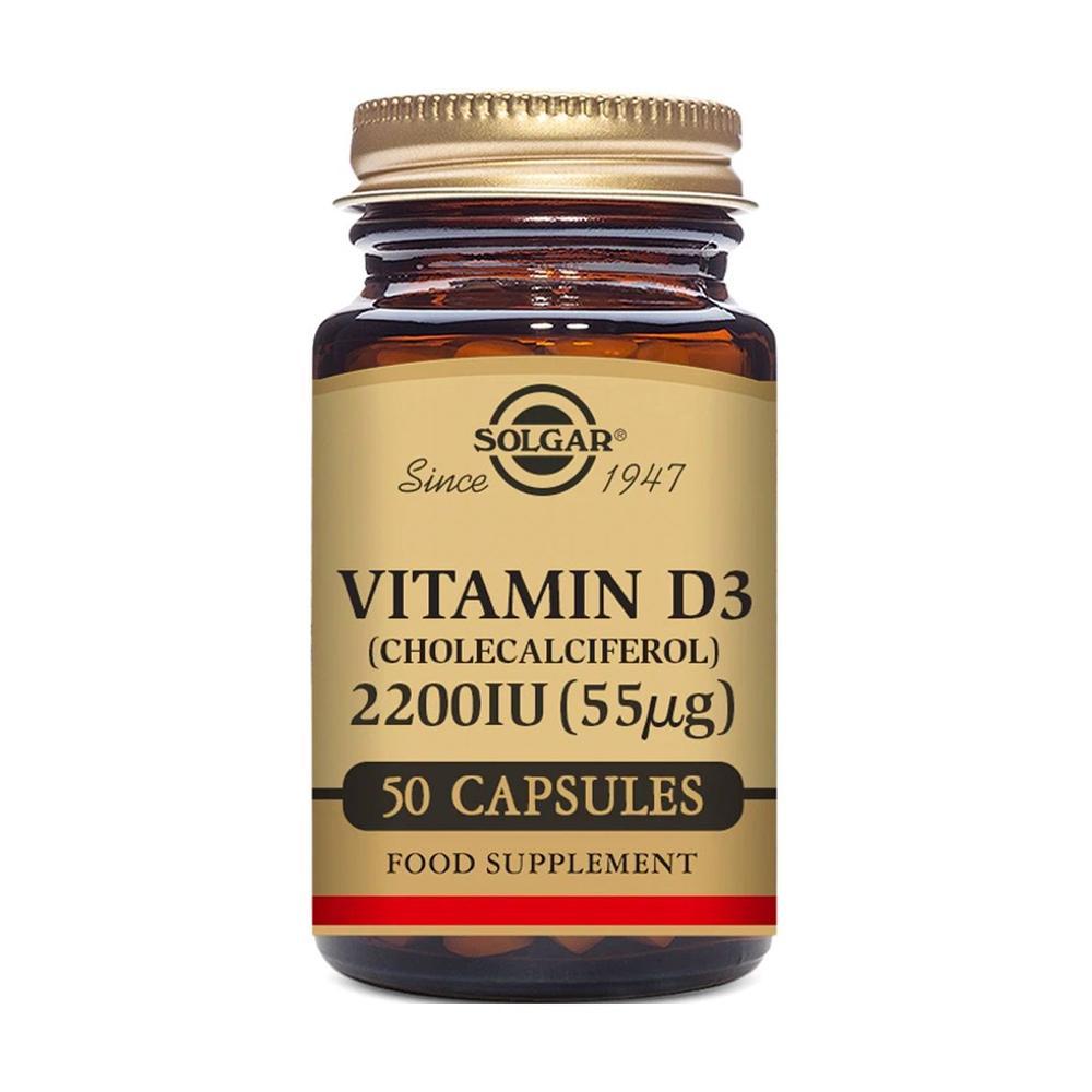 Vitamin D3 Cholecalciferol 2200 IU | Solgar - zen healthcare london