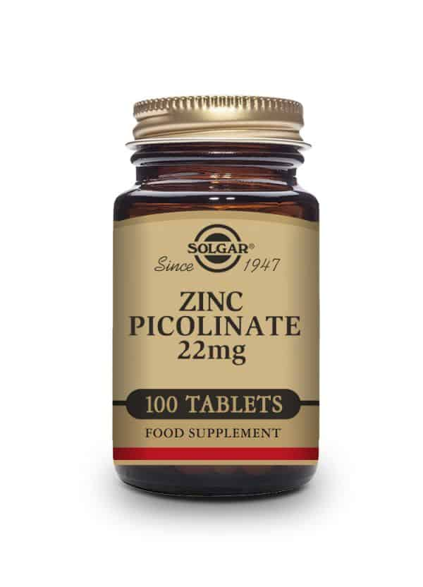 Zinc Picolinate 22 mg Tablets-Pack of 100