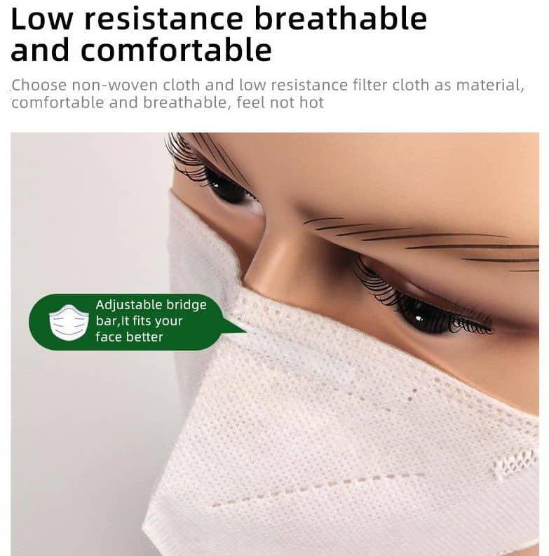 kn95 mask - zen healthcare 5 - london