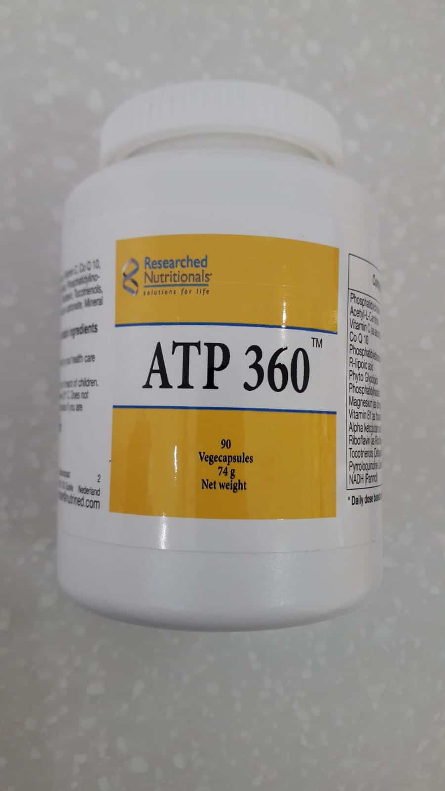 Researched Nutritionals ATP 360
